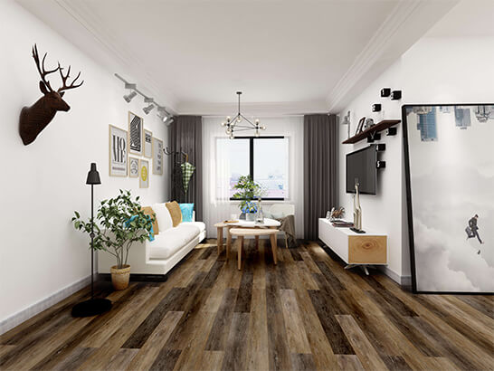 Impervia Commercial Zebra Oak Luxury Vinyl Flooring