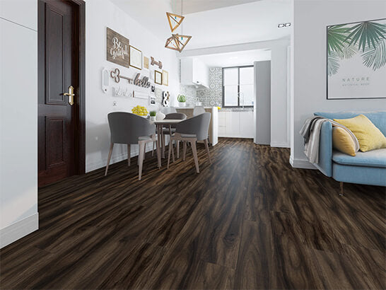 Impervia Deep Fumed Rustic White Oak Luxury Vinyl Flooring