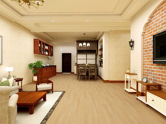 Impervia Golden Dune Oak Luxury Vinyl Flooring