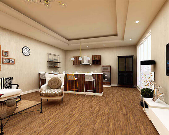 Impervia Large Fineling Oak Luxury Vinyl Flooring