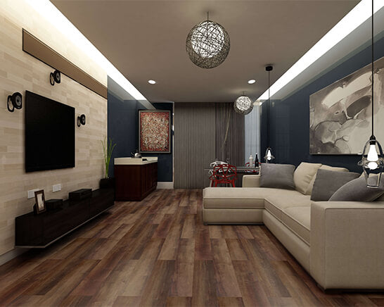Impervia Rich Smoked Oak Luxury Vinyl Flooring