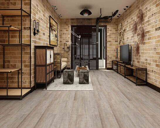 Impervia Silver Fern Oak Luxury Vinyl Flooring