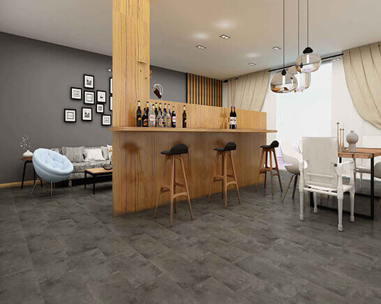 Impervia Welsh Slate Tiles Luxury Vinyl Flooring