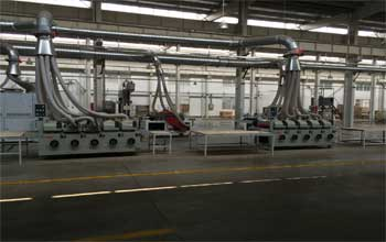 manufacturing machines in factory