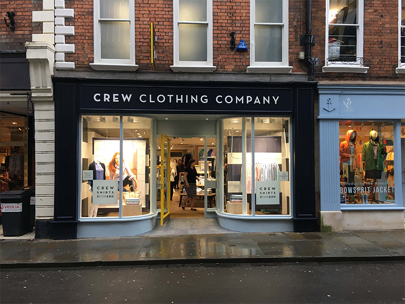 Crew Clothing Shop Front