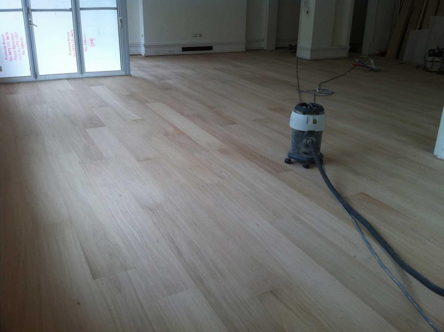 Select Grade Wide White Oak Flooring Unfinished