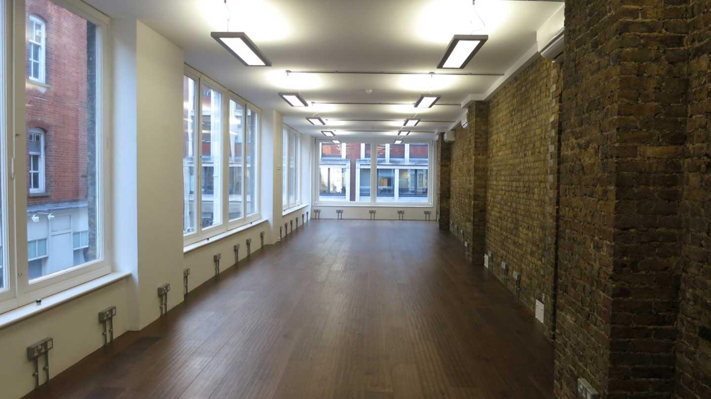 Antique Smoked Oak Flooring Lacquered Finish