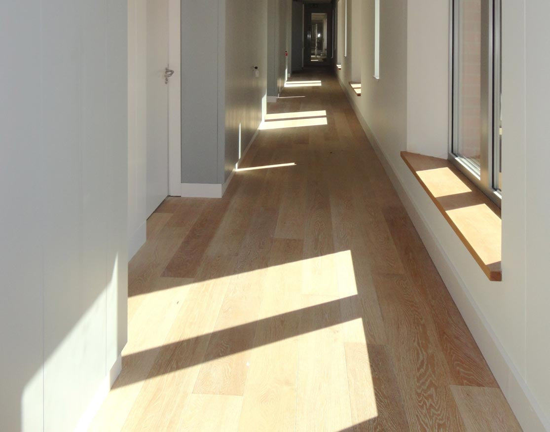 Brushed Limed Oak Flooring