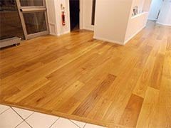 E730 European Oiled Oak installed in Volvo showroom
