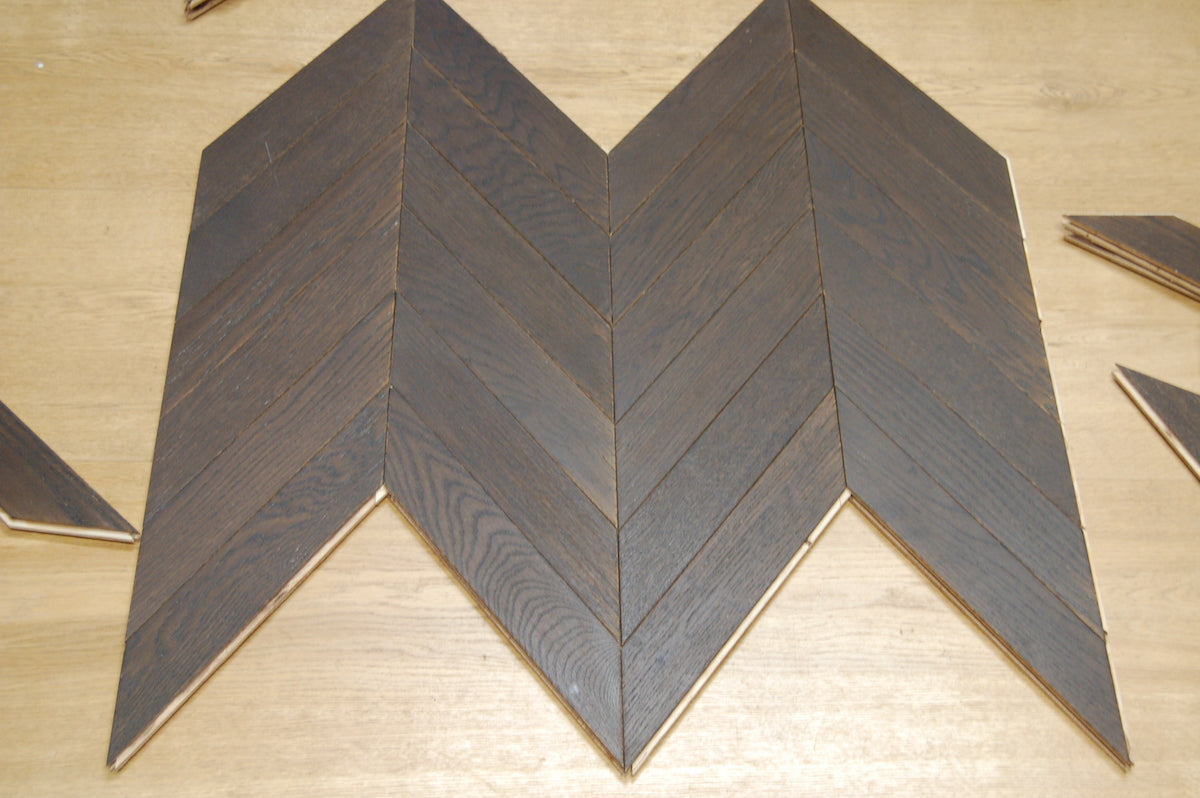 an example of Chevron flooring