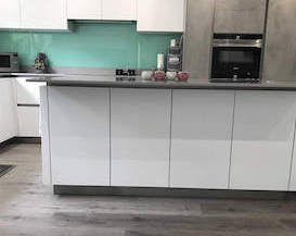 French Grey Impervia plank flooring
