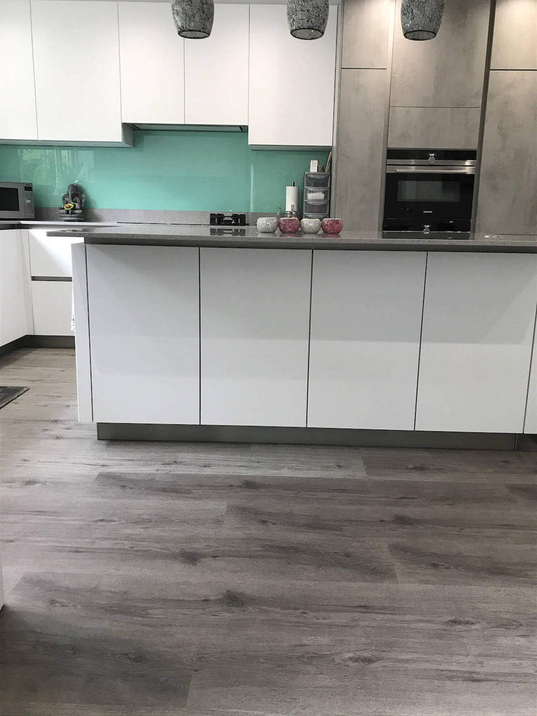 Impervia Vinyl Luxury Flooring in a Kitchen