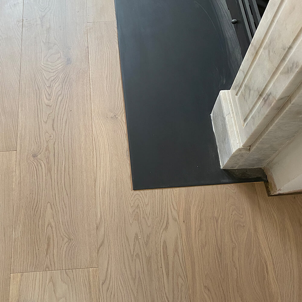 Fitting Fumed with Bare Timber and UV oil finish 240mm wide E160 UV