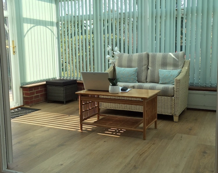 Natural Oak Luxury SPC Rigid Vinyl Flooring