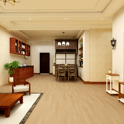 Impervia Luxury Vinyl Flooring in Living Room