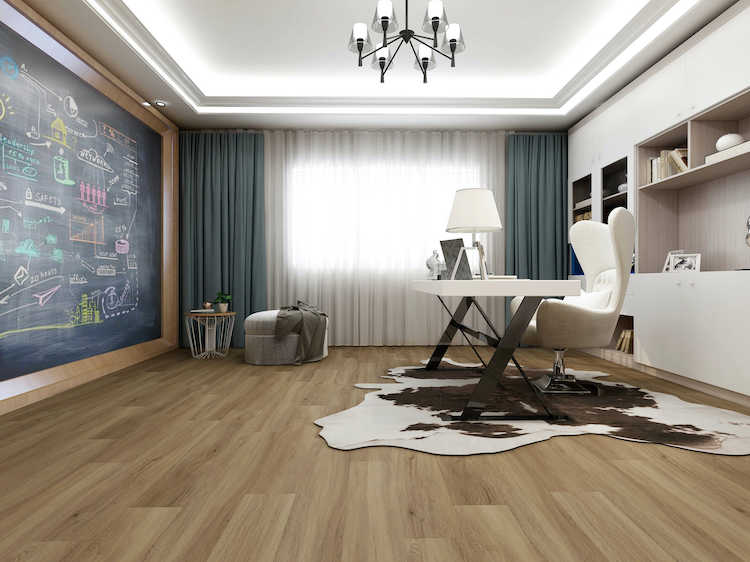 Impervia Commercial Russian White Oak Luxury Vinyl Flooring