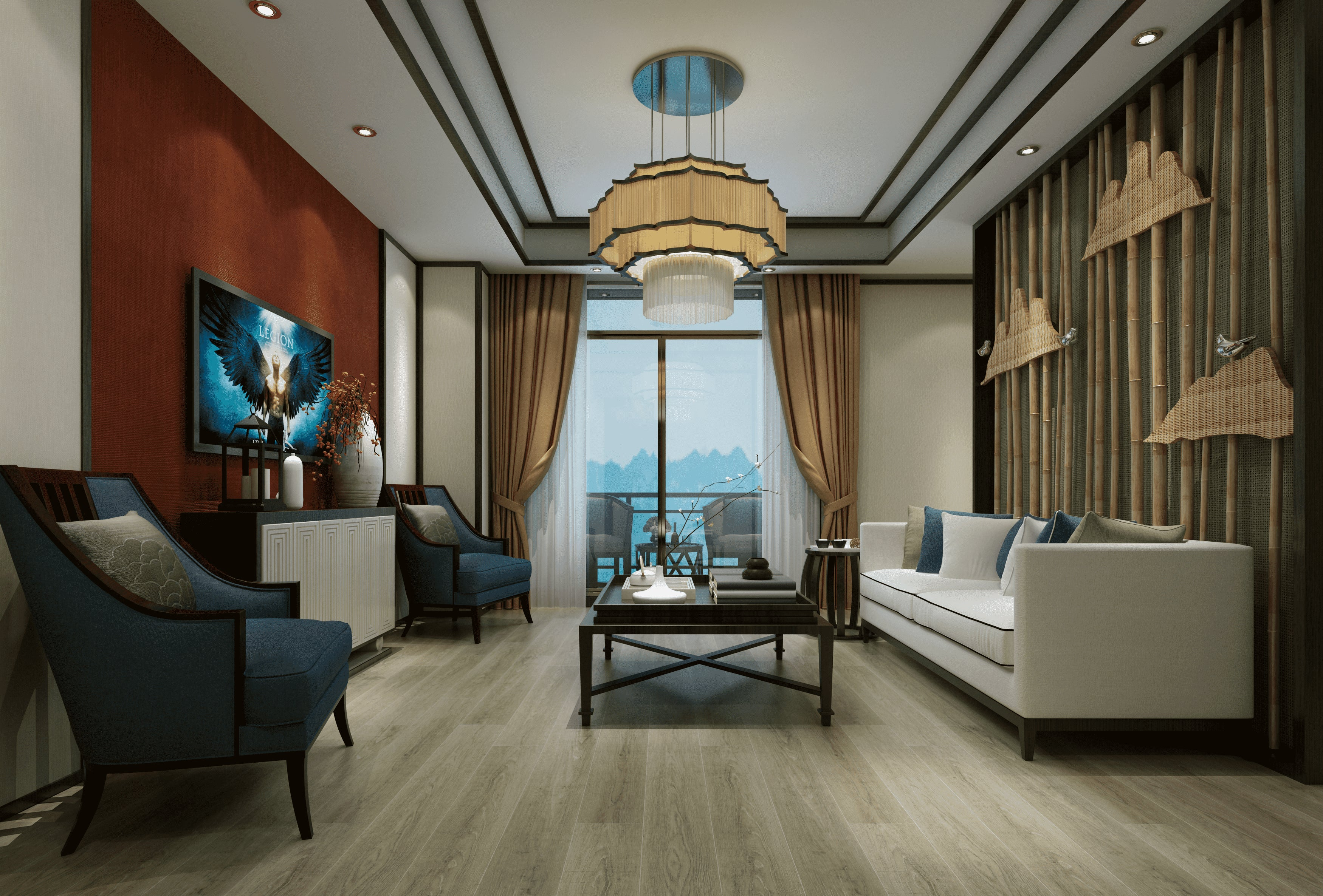 Impervia Fumed Oak treated luxury Vinyl Flooring