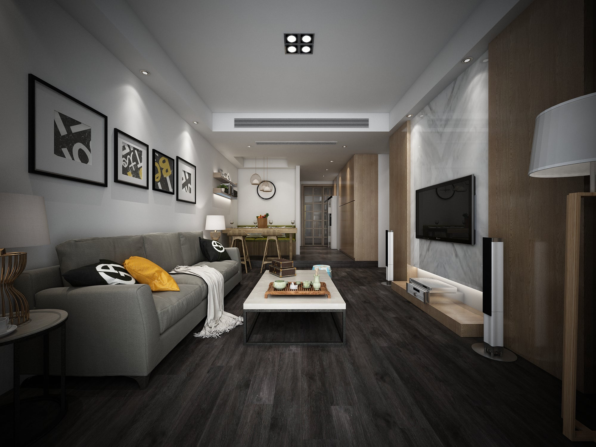 Impervia Black Fumed Oak Luxury Vinyl Flooring