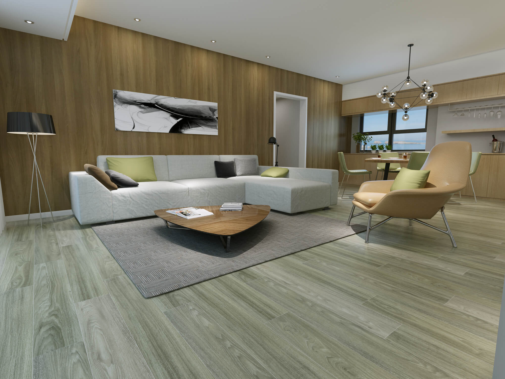 Impervia Commercial Ocean Oak Luxury Vinyl Flooring