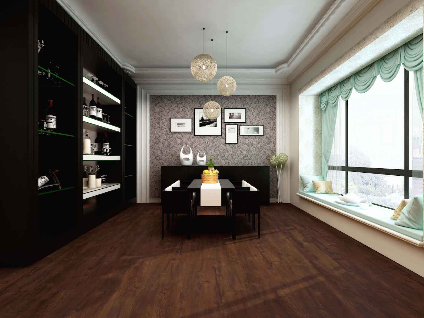 Impervia Dark Earth Smoked Oak Luxury Vinyl Flooring