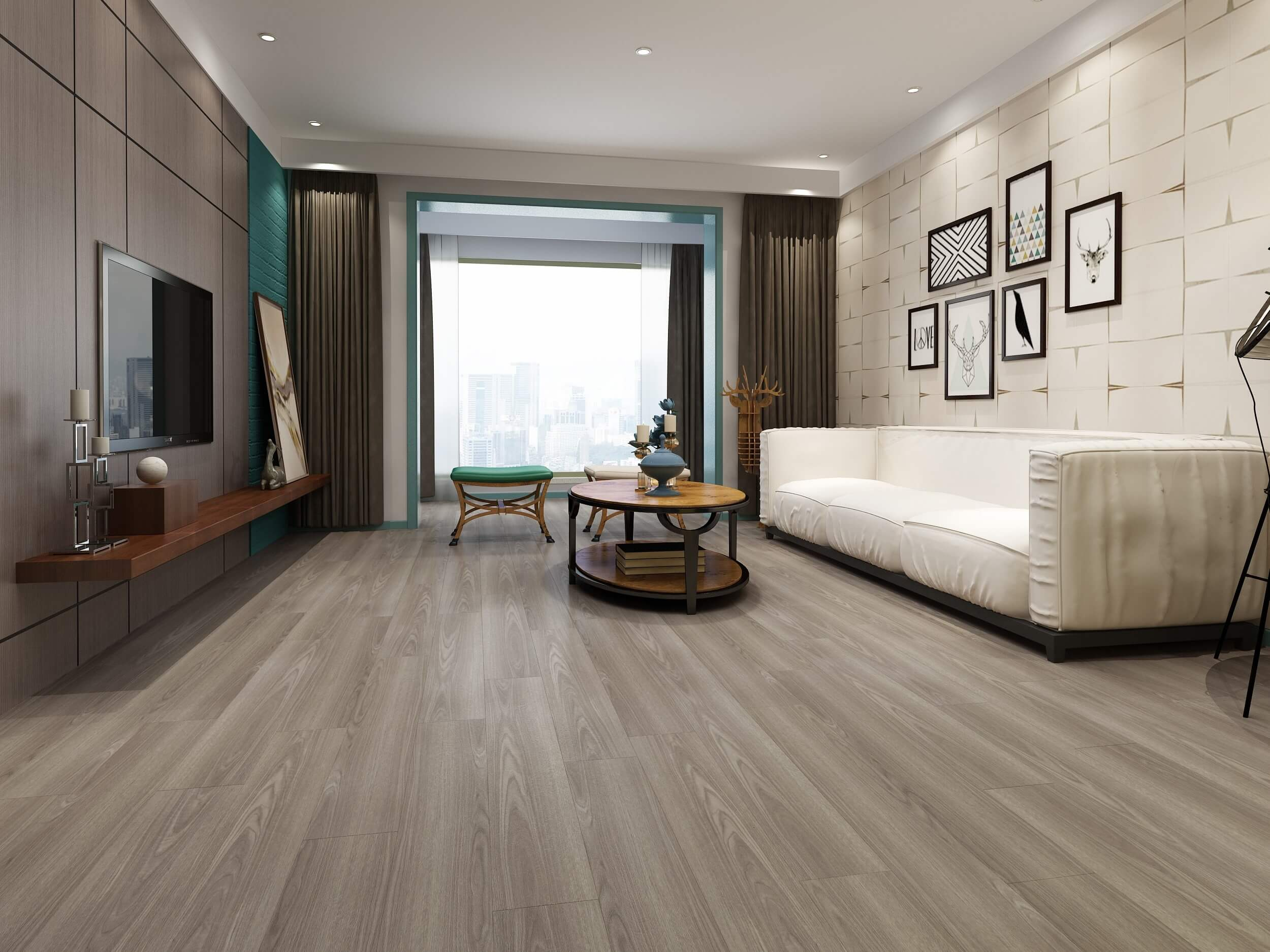 Impervia Driftwood Grey Luxury Vinyl Flooring