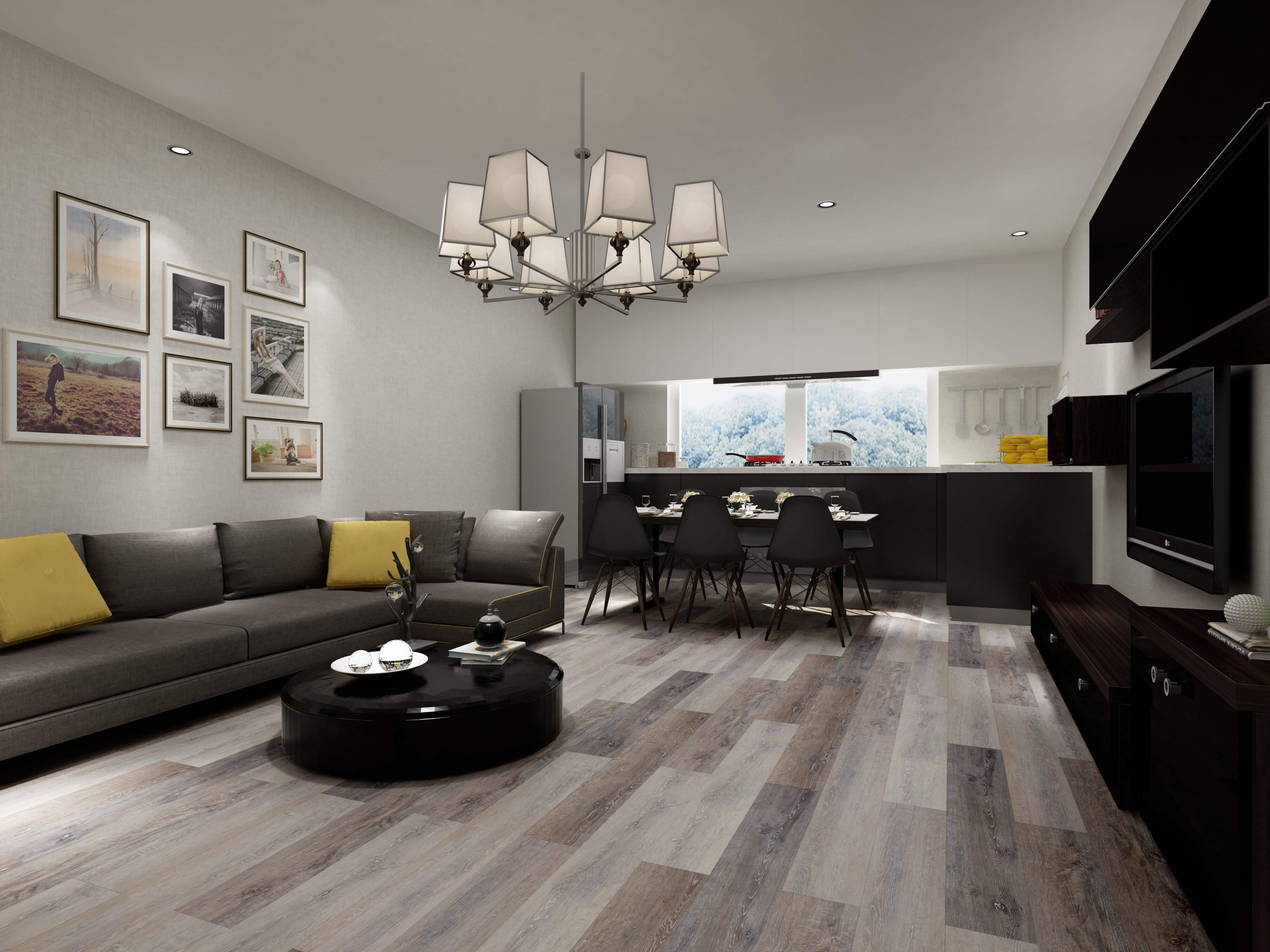 Impervia Eastern Dusk Oak Luxury Vinyl Flooring