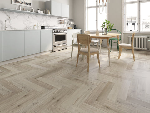Impervia Herringbone Flooring