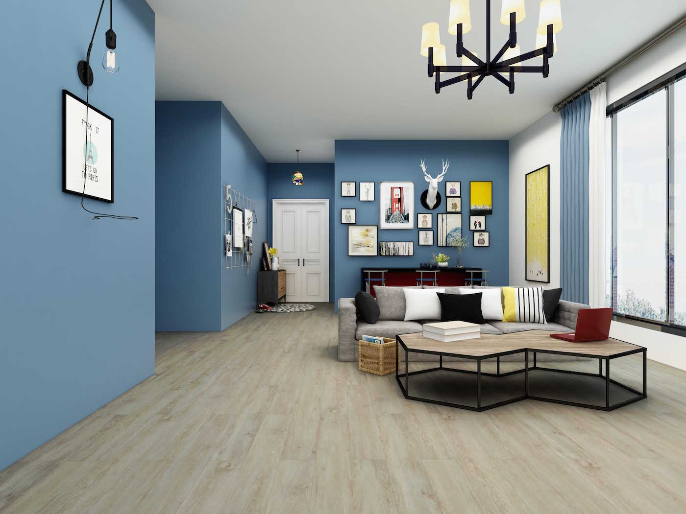 Impervia Latte Light Oak Luxury Vinyl Flooring