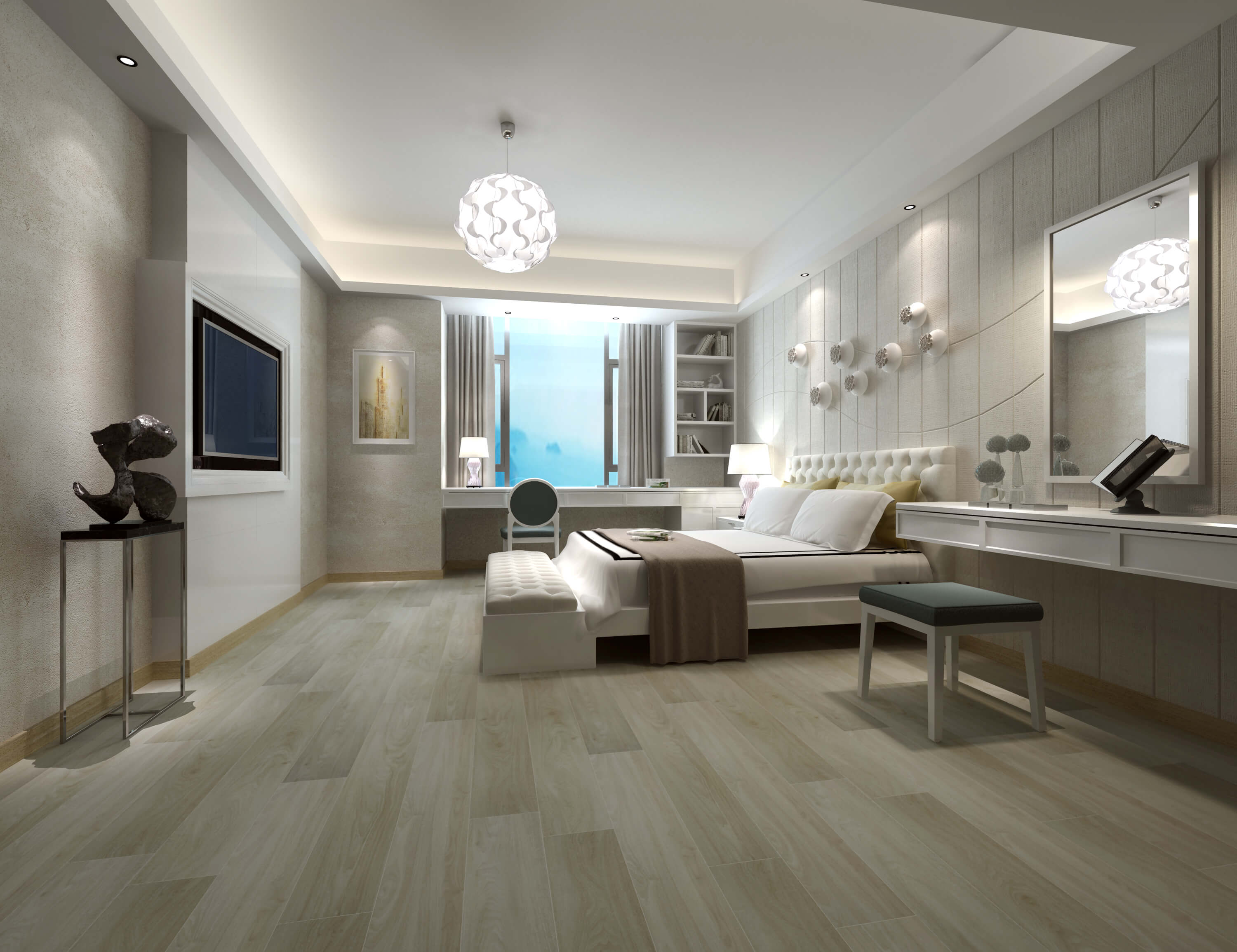 Impervia Lightened White Oak luxury Vinyl Flooring