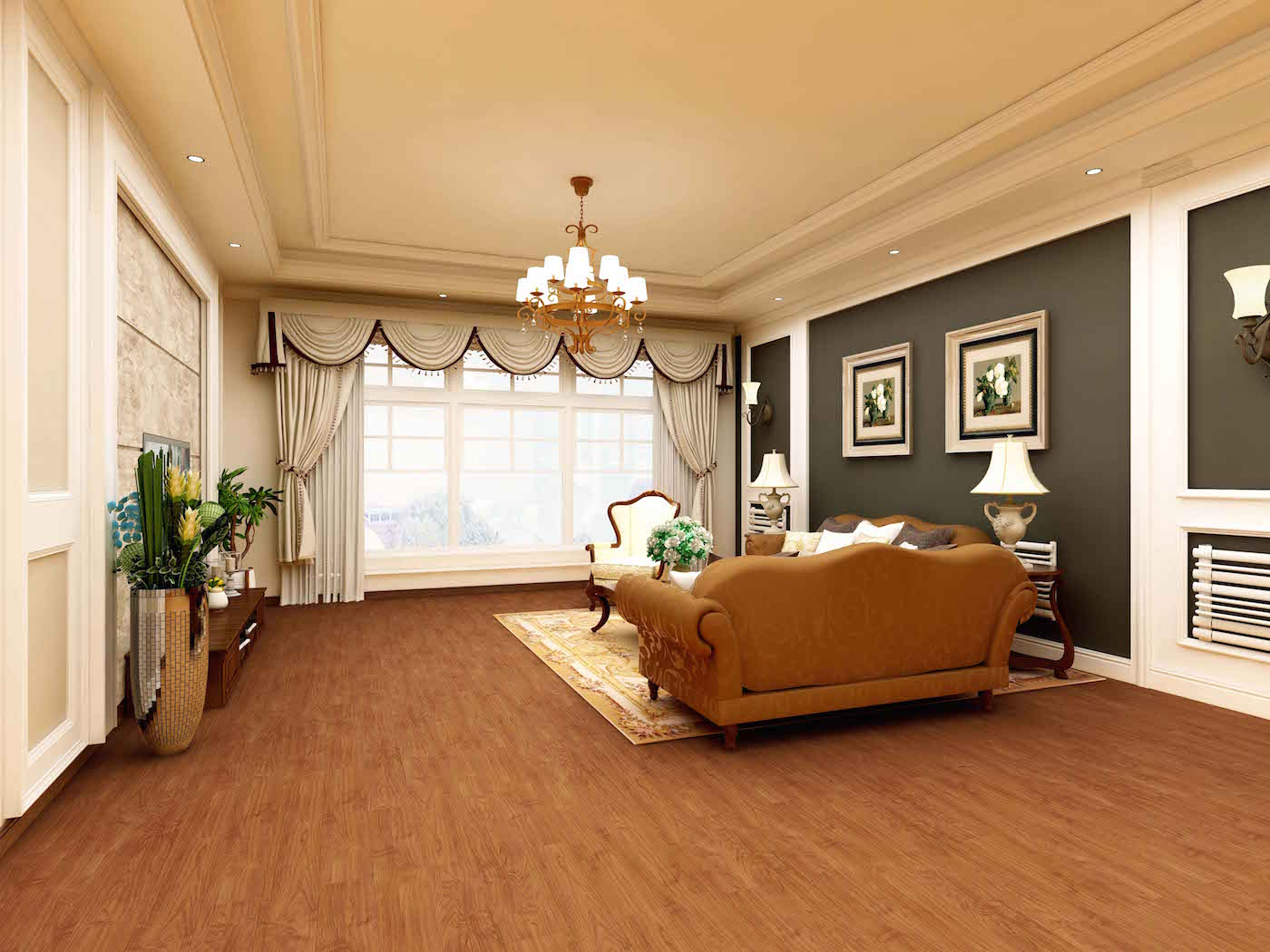 Impervia Redwood Northern Oak Luxury Vinyl Flooring