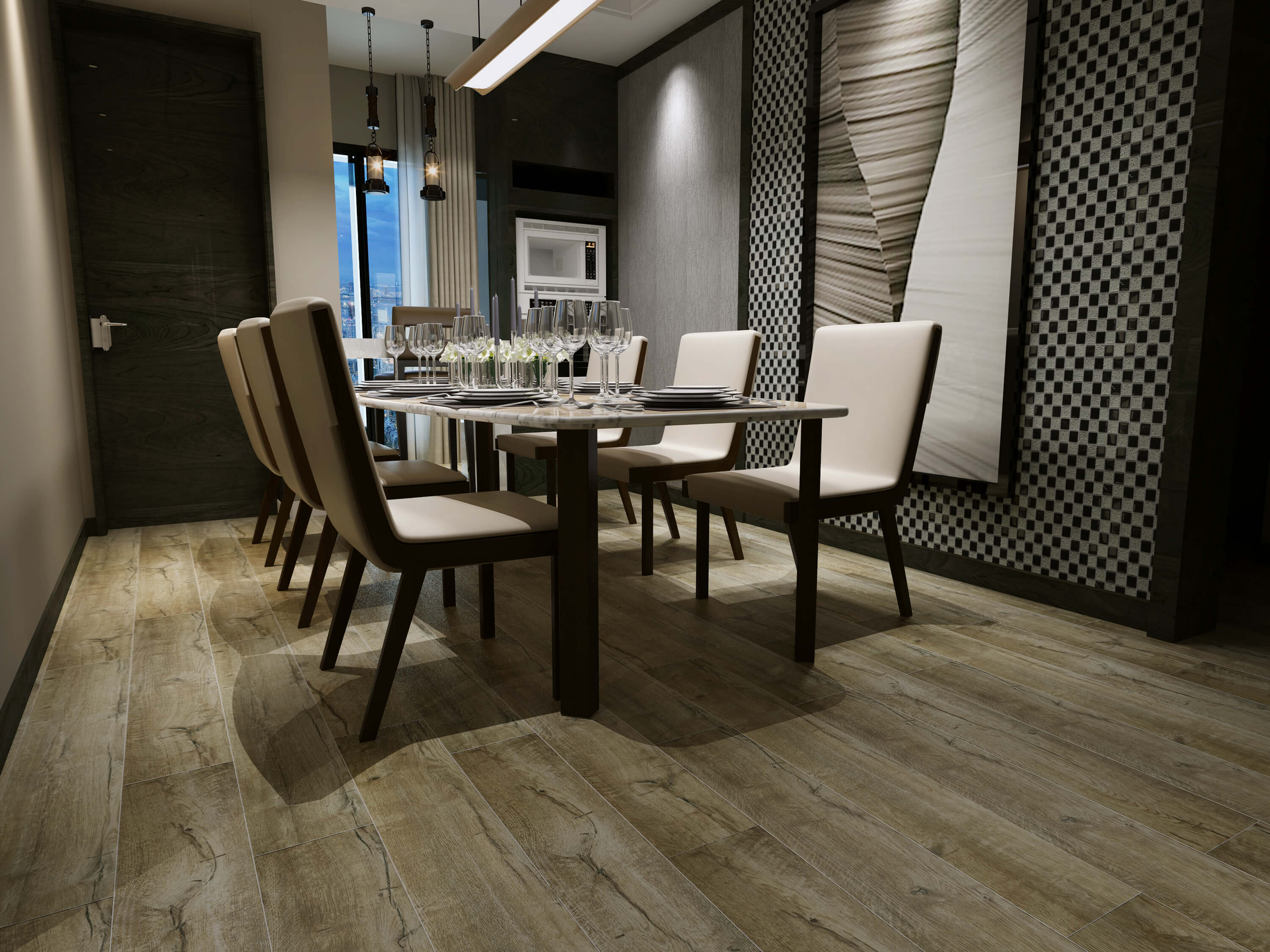 Impervia Rustic Reclaimed European Oak Luxury Vinyl Flooring
