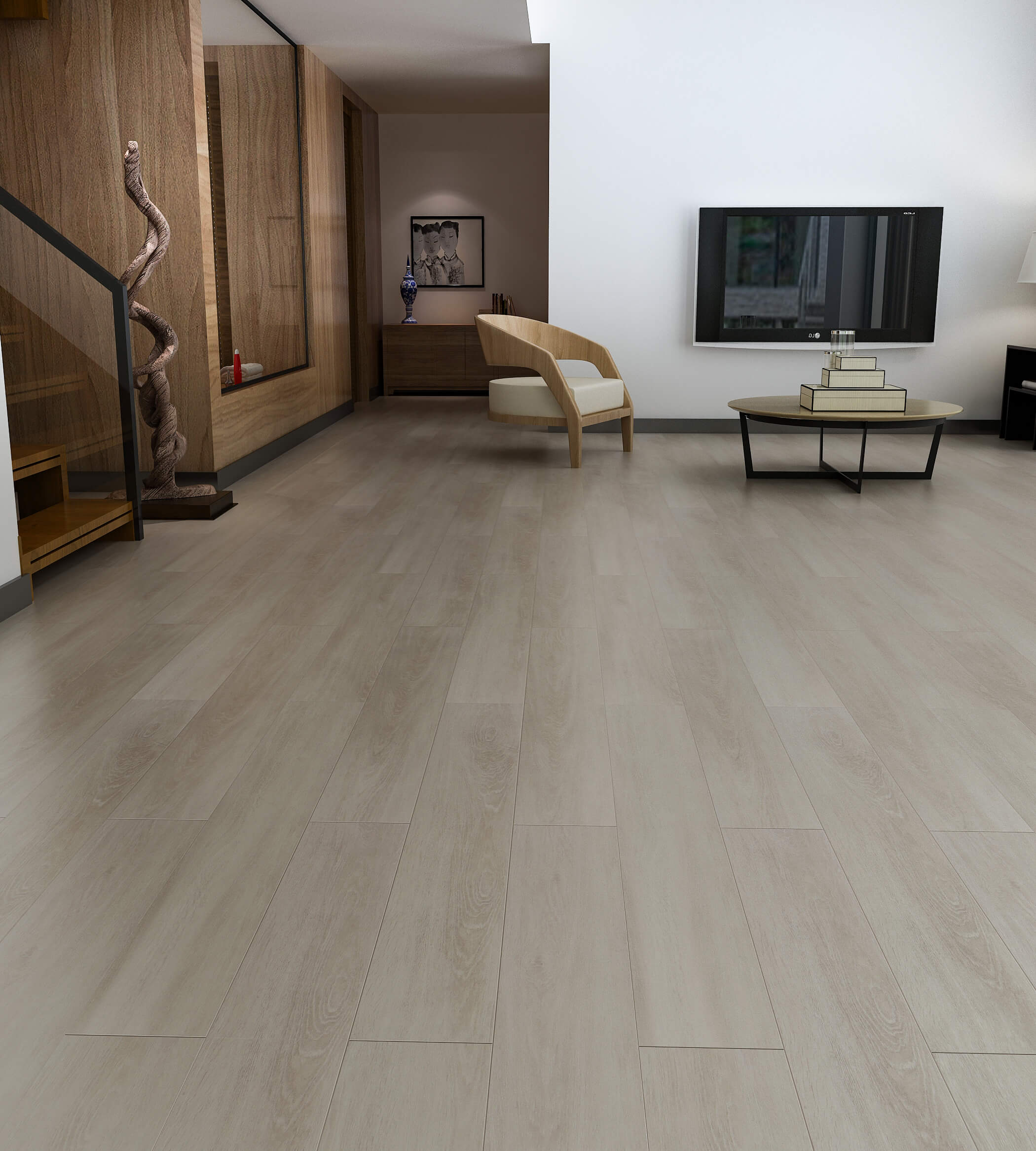 Impervia SPC Light Fumed Luxury Vinyl Flooring