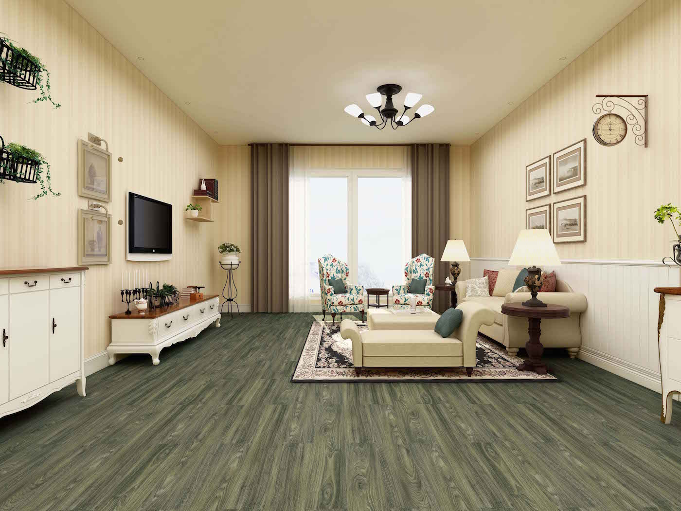 Impervia The Green Nemis Ocean Oak Luxury Vinyl Flooring