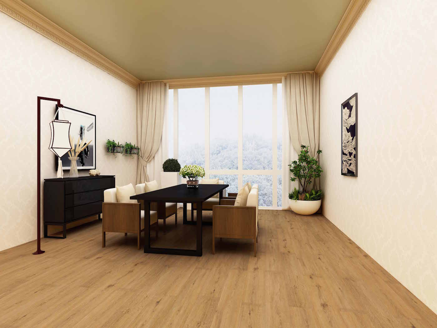Impervia Wicker Oak Luxury Vinyl Flooring