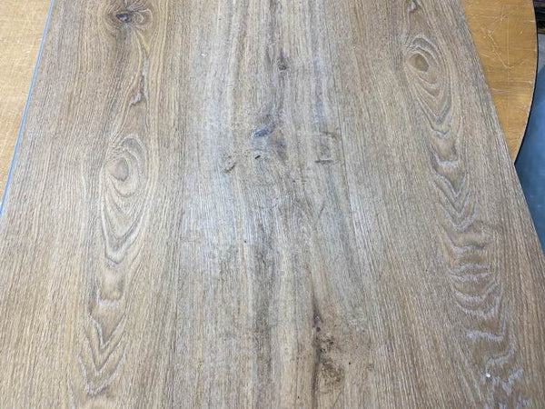 Natural Oak Impervia IMP-9005-1 Outdoor weather test 2 (new board on the left)