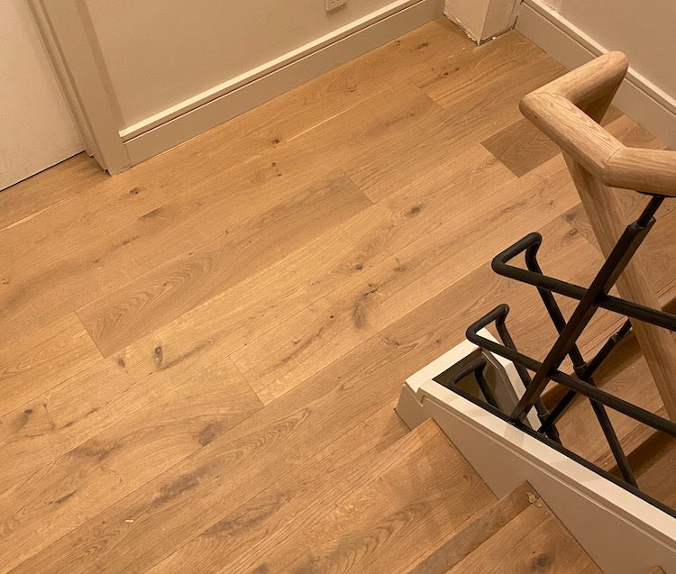 Nature Grey UV Oiled Oak Floor