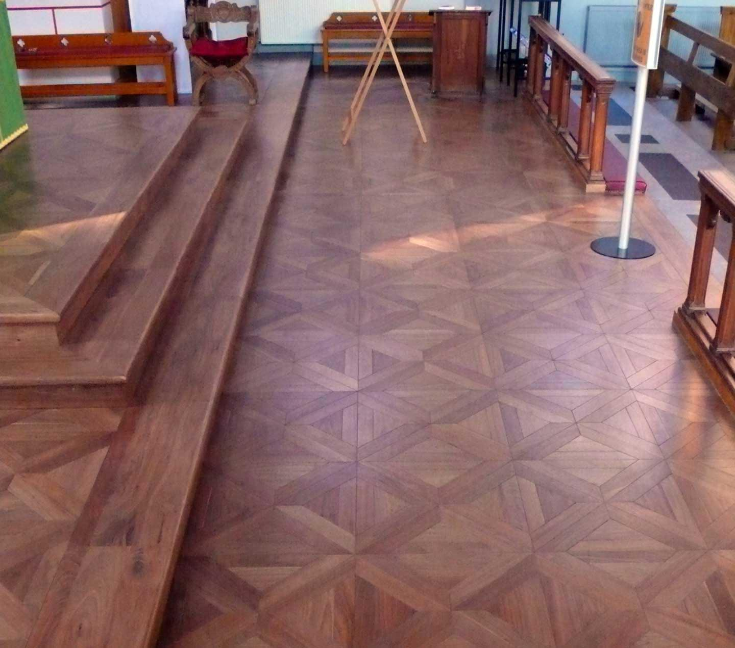 Classic French Parquet Panel
