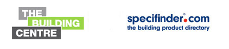 logo of the building Centre and specifinder.com