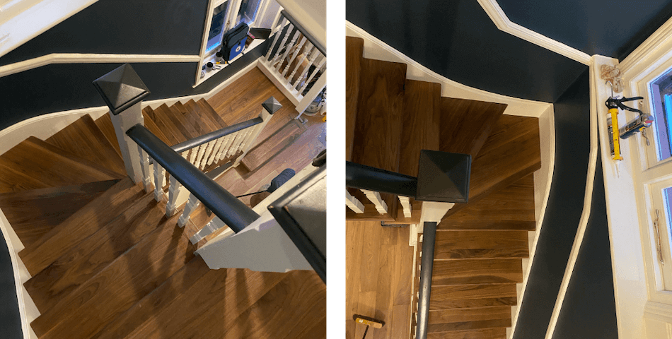 Wood Flooring Stairs Case Study
