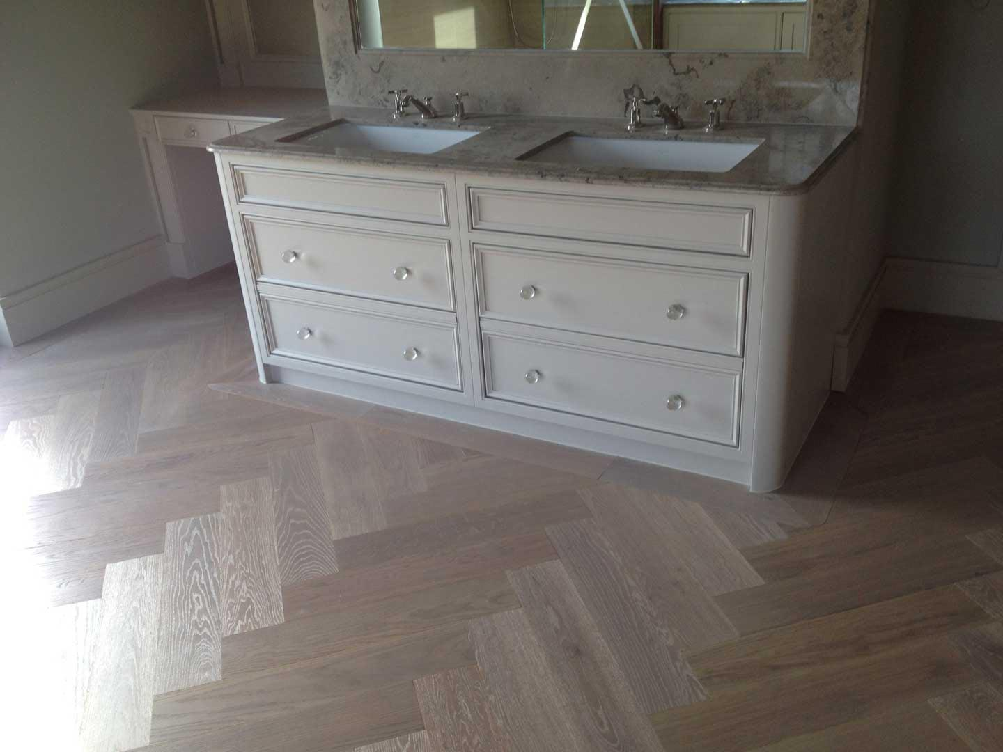 Engineered Quarter Sawn Parquet Unfinished