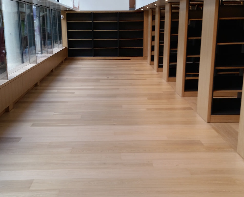 Science Museum's new wood flooring