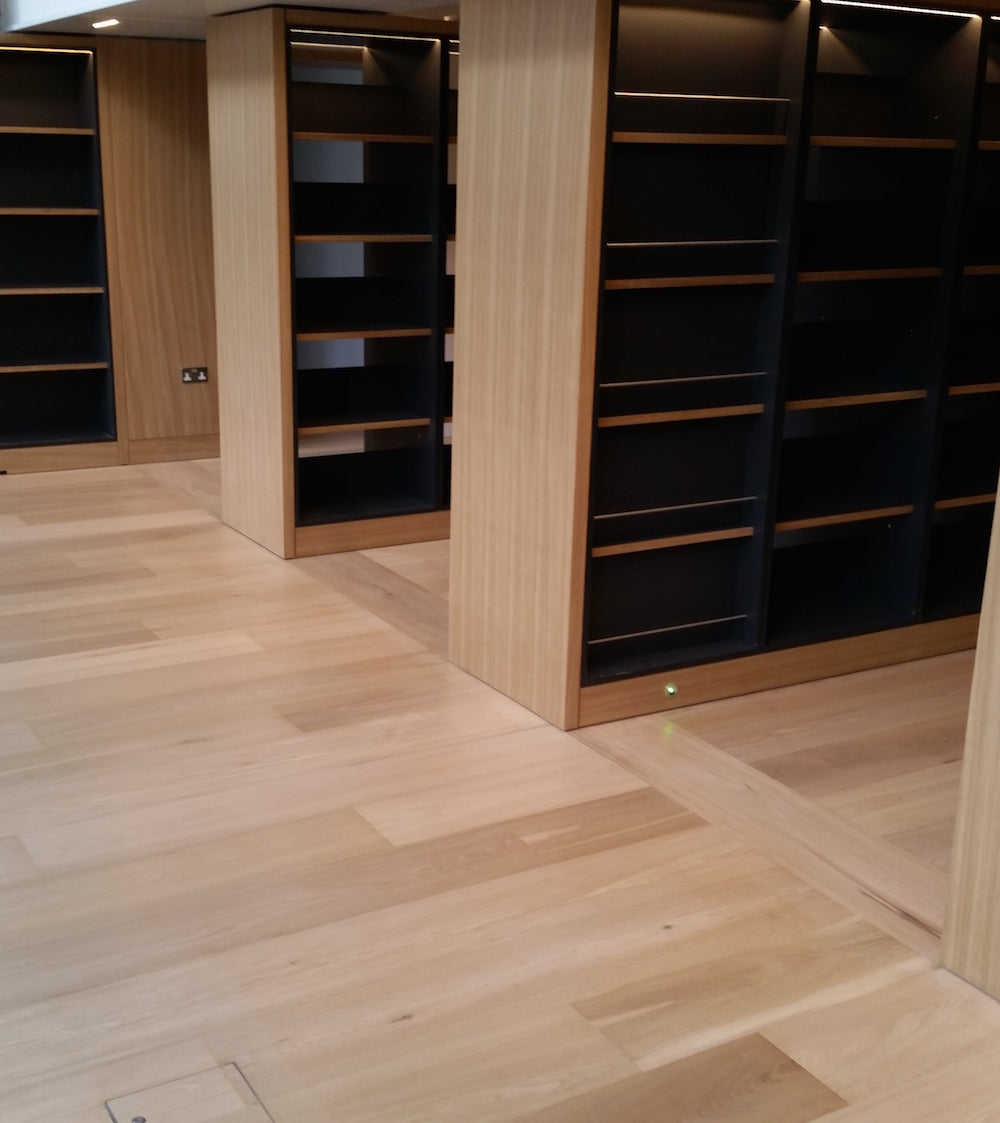 Select White Oak Flooring at Science Museum