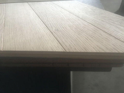 side view of chevron plank