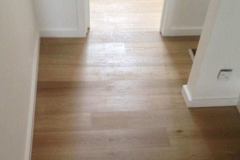 E124 Fumed Oak Flooring in London Home