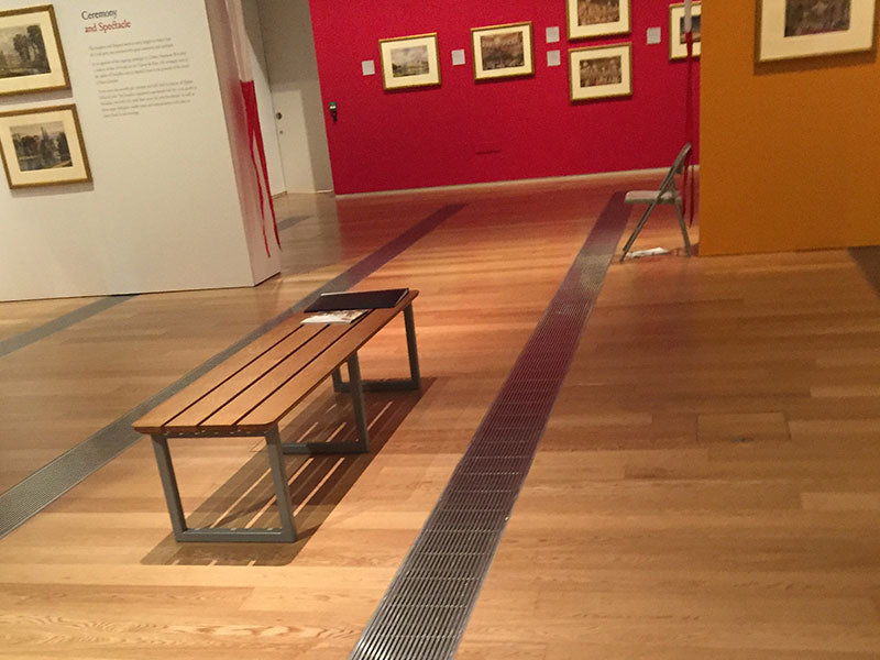 Prime Oak flooring installed in museum