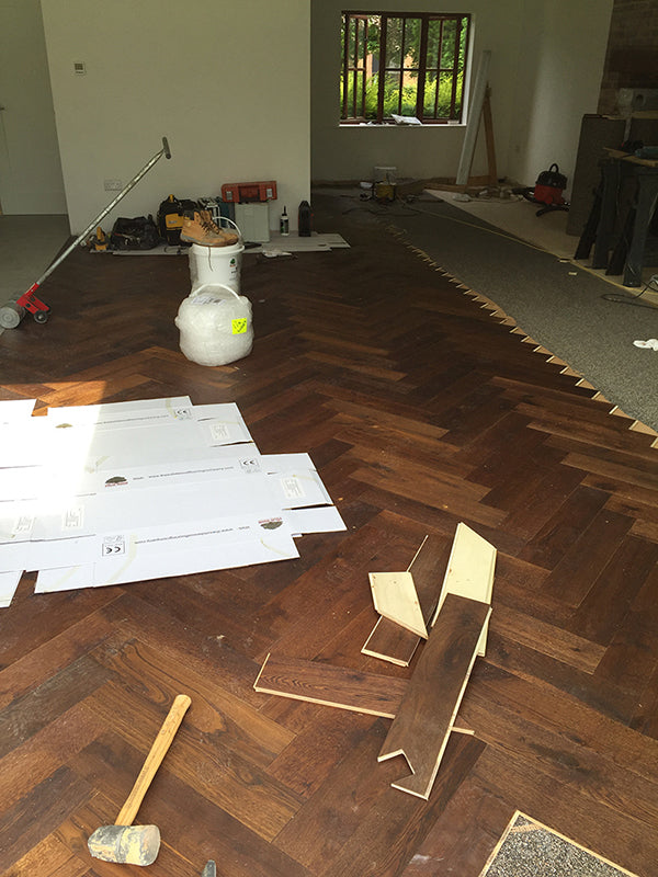 How NOT to fit a Wood Floor