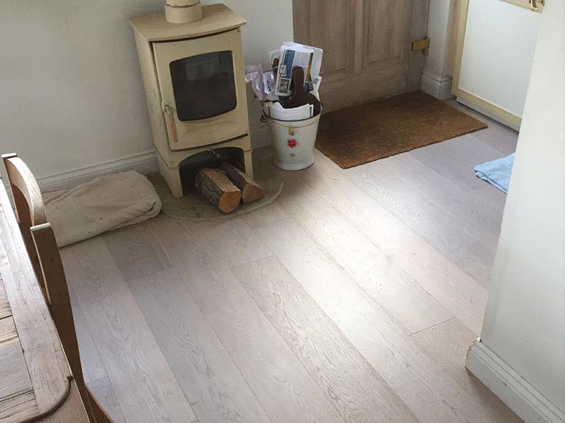 select grade oak flooring