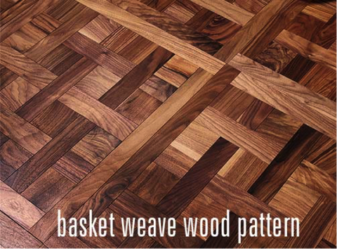 Basket Weave Wood Pattern