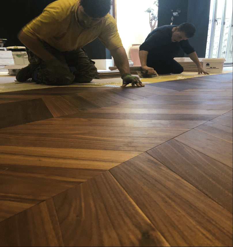 Chevron Flooring Fitters