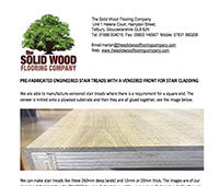 Processing the Surface of Wood Floor Boards